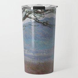 Landscape at Giverny by Claude Monet Travel Mug