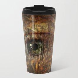 Gears and Nature Travel Mug