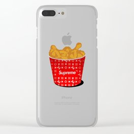 Suprm Bucket Clear iPhone Case
