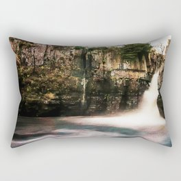 High Force Waterfall. Rectangular Pillow