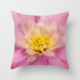Sunshine and Morning Dew Throw Pillow
