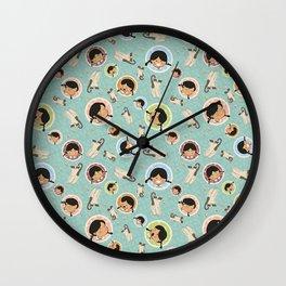 Mixtura Wall Clock