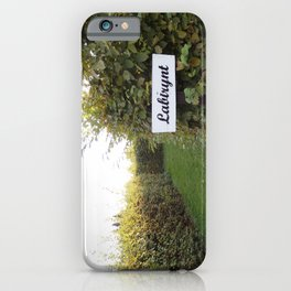 THE MAZE WELCOME  iPhone Case