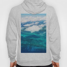499 - Abstract Aerial Design Hoody