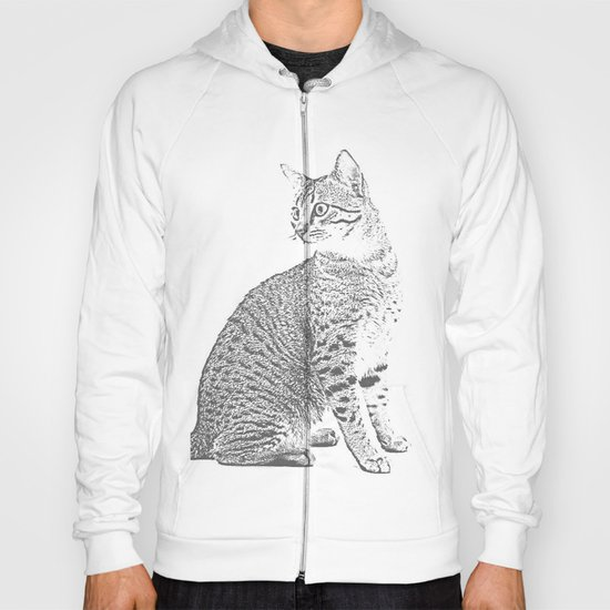 Cat Sketch Hoody