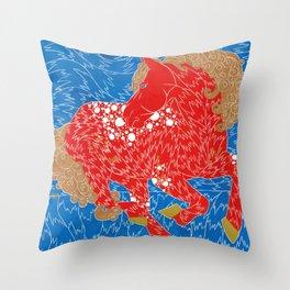 Iskra or Spark  Throw Pillow