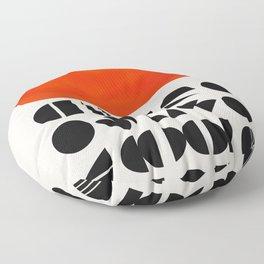 Solar Symbol Floor Pillow