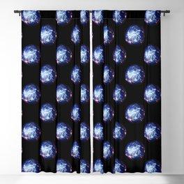 The Yin Yang Energy Swirl Blackout Curtain
