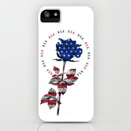 My name is USA iPhone Case