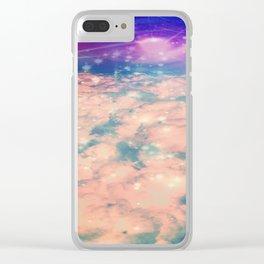 Pink Dream Clear iPhone Case