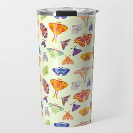 Moth - pastel Travel Mug