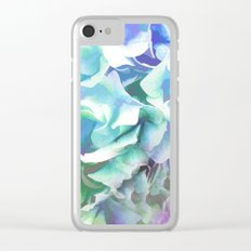 Hydrangea in a Pastel Light Clear iPhone Case