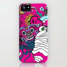 Doodle Graffitti iPhone Case