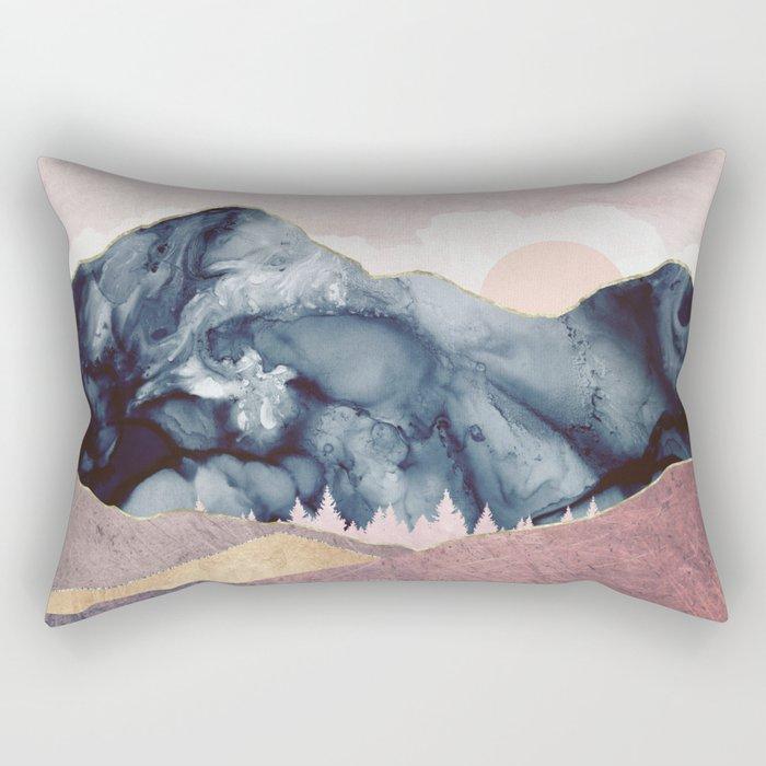 Mauve Vista Rectangular Pillow