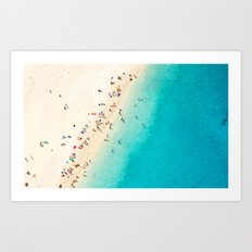 Mediterranean Dreams Art Print