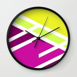 High colors - minimal Wall Clock