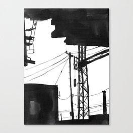 Railway IX Canvas Print