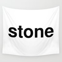 stone Wall Tapestries featuring stone by linguistic94