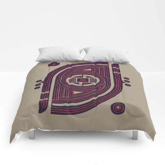 Neon Flux Comforters