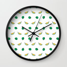 Durian - Singapore Tropical Fruits Series Wall Clock