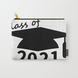 Class Of 2021 Graduation Cap Carry-All Pouch