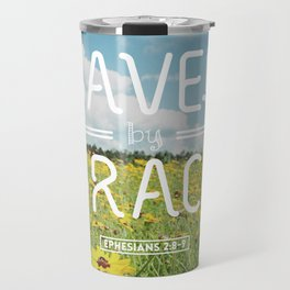 Saved by Grace Travel Mug