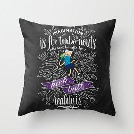 Wisdom of Finn Throw Pillow