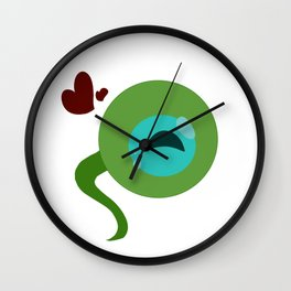 Septic Sam Wall Clock
