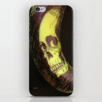 evil dead iPhone & iPod Skins featuring Evil Dead 2 - Banana by Stephan Brusche