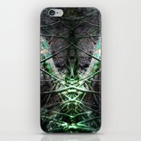 lizard iPhone & iPod Skins featuring LIZARD by ED design for fun