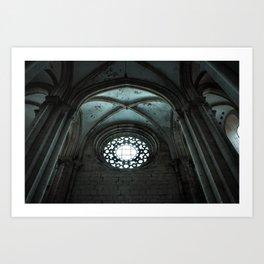 Monastery of Alcobaça, Portugal - PMMA14 Art Print