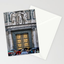 Rain Outside the Baptistry Stationery Cards