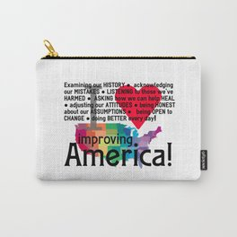 Improving America  Carry-All Pouch