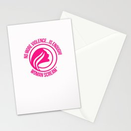 Woman Scream Cause Gifts Stationery Cards