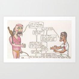 Shittifest Destiny Art Print