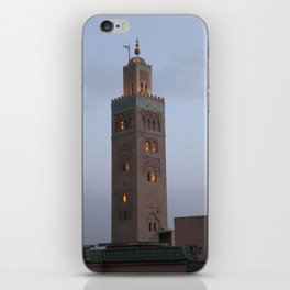 Marrakech, Morocco. Glowing Mosque iPhone Skin