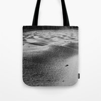 sand Tote Bags featuring Sand by Fine2art