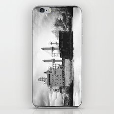 Boat on the St-Lawrence river iPhone & iPod Skin