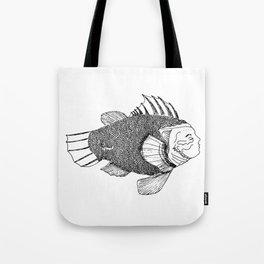 A gentleman fish Tote Bag