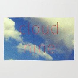 """""""Cloud Nine"""" Rug"""