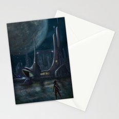 Night Outpost Stationery Cards