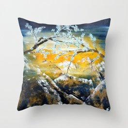 Eternal snow Throw Pillow
