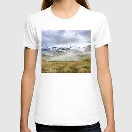 Lago Ercina in National park Picos de Europa T-shirt