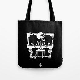 Piano ray Tote Bag