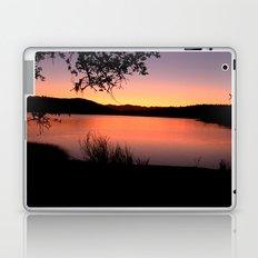 LAKE HENNESSEY - NAPA CALIFORNIA - SUNSET REFLECTION  Laptop & iPad Skin
