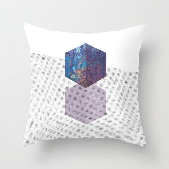 Rough diamonds Throw Pillow