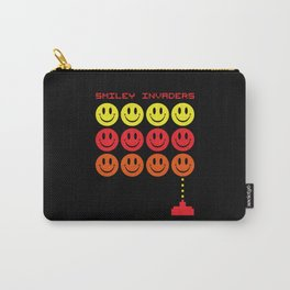 Smile Invaders Gaming Quote Carry-All Pouch