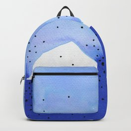 Bright blue series #4 Backpack