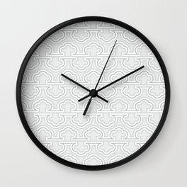 Op art geo abstract isometric vintage stripes  #society6 #decor #buyart #artprint Wall Clock