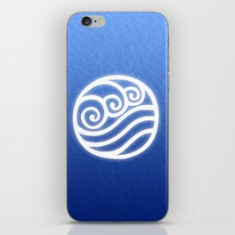Avatar Water Bending Element Symbol iPhone Skin